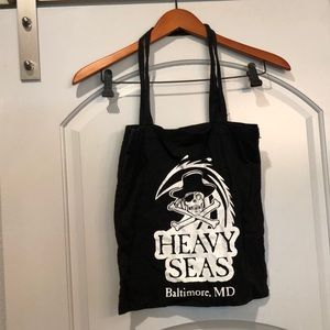 Heavy seas brewery, Baltimore MD tote bag.
